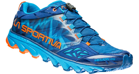La Sportiva M's Helios 2.0 Shoes Blue/Flame